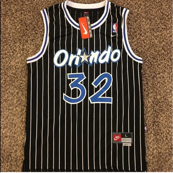 low priced 6b20d 44573 Nike #32 Shaquille O'Neal Orlando Magic Jersey NWT